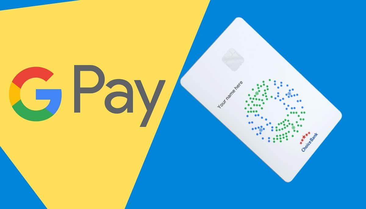 Tarjeta google pay